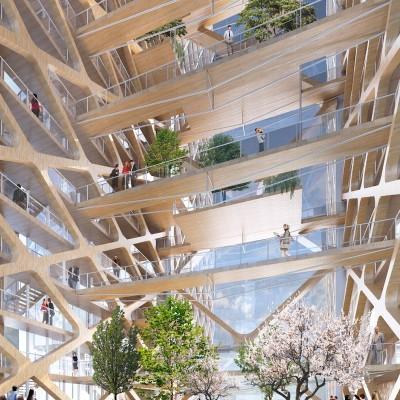 Les constructions en bois prennent de l'envergure!